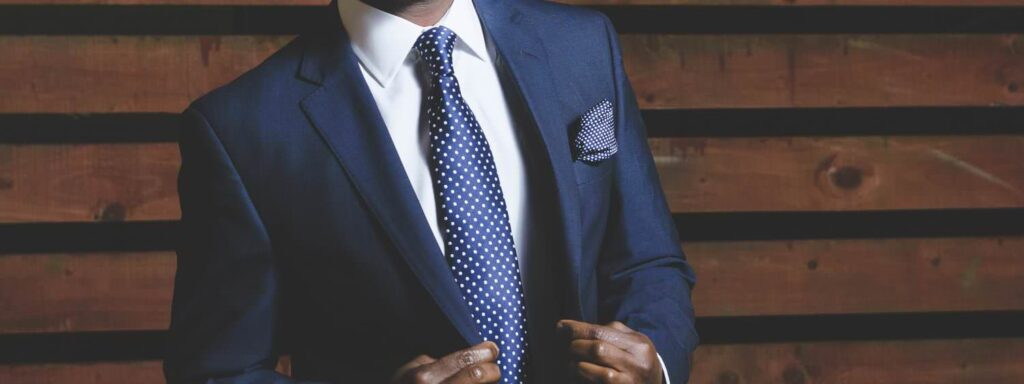 Suit of a Businessman