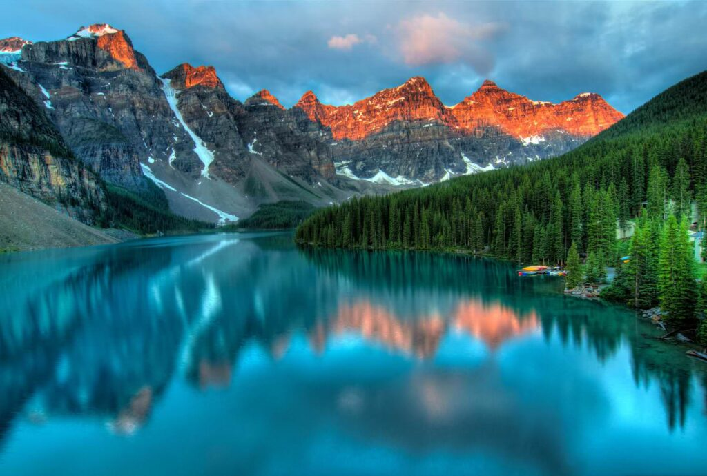 Interesting Moraine Lake Photos