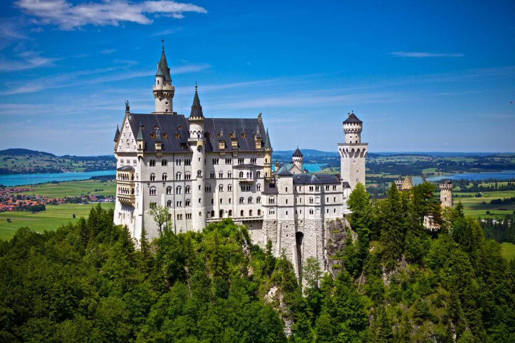 The neuschwanstein castle germany