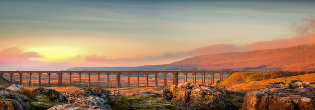 The ribblehead bridge