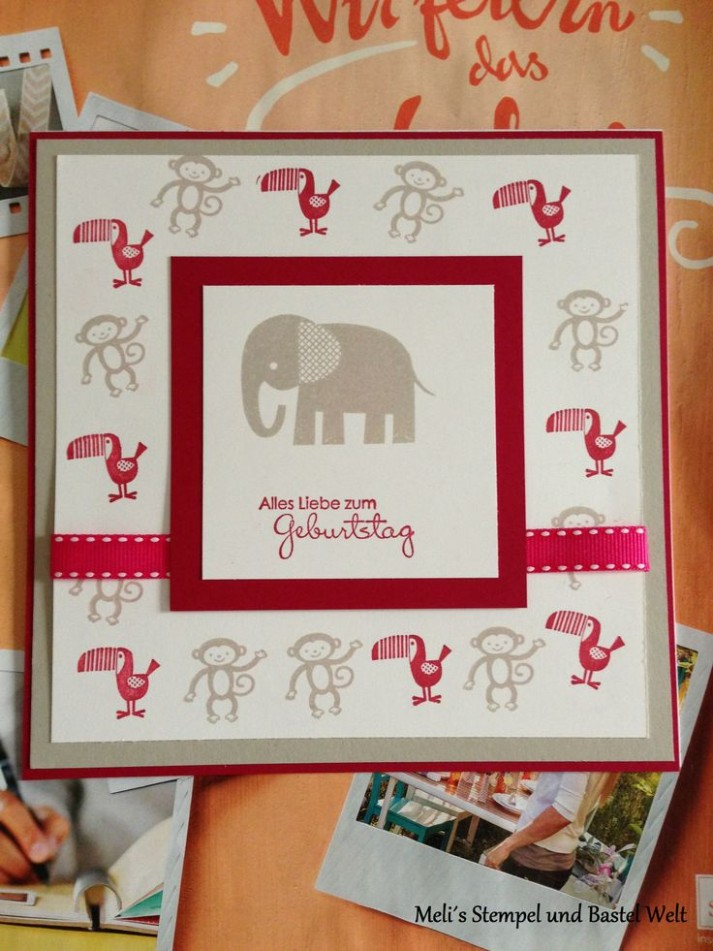 57 best images about Stampin Up Kindergeburtstag on ..